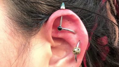 Photo of How with an Industrial Piercing Which Will Stick Out