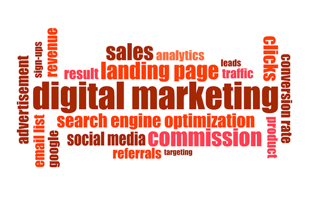 A poster showing the best digital marketing strategies for small and mid-sized businesses.