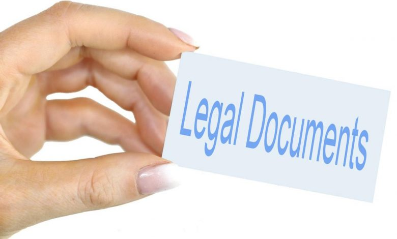 Photo of Legal Documents To Have Available Right Now
